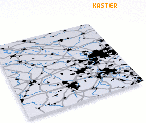 3d view of Kaster