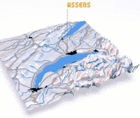3d view of Assens