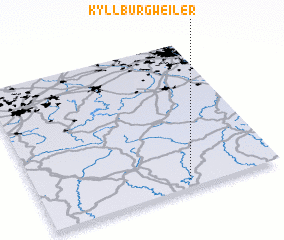 3d view of Kyllburgweiler