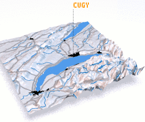 3d view of Cugy