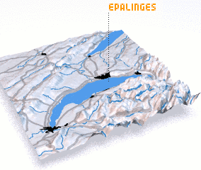 3d view of Epalinges
