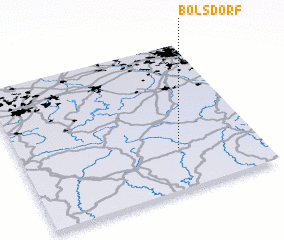 3d view of Bolsdorf