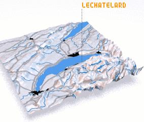 3d view of Le Châtelard