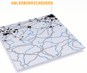 3d view of Kalenborn-Scheuern
