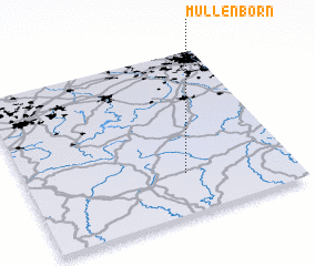 3d view of Müllenborn