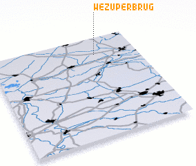 3d view of Wezuperbrug