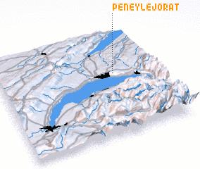 3d view of Peney-le-Jorat