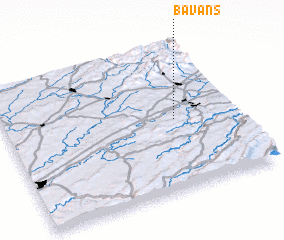 3d view of Bavans