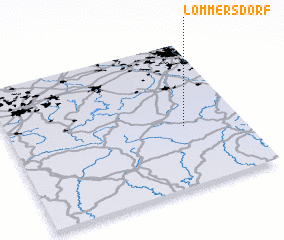 3d view of Lommersdorf