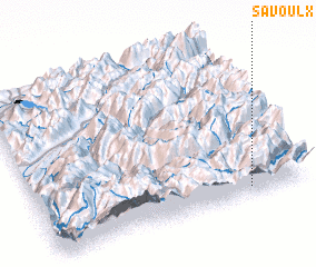 3d view of Savoulx