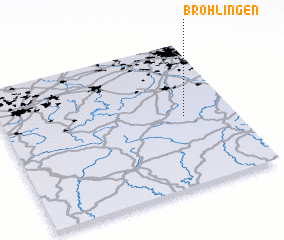 3d view of Bröhlingen