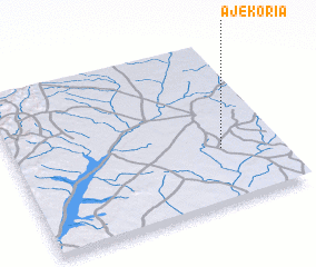 3d view of Ajékoria