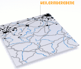 3d view of Weiler in der Ebene