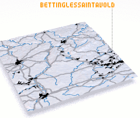 3d view of Betting-lès-Saint-Avold