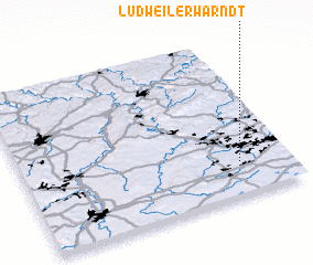 3d view of Ludweiler-Warndt