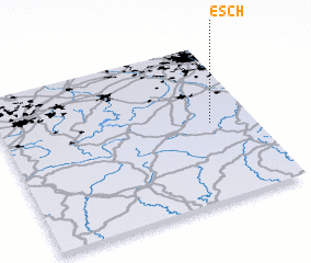 3d view of Esch