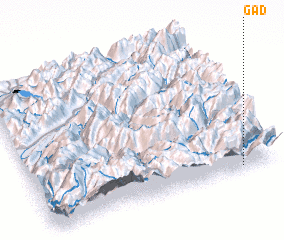 3d view of Gad