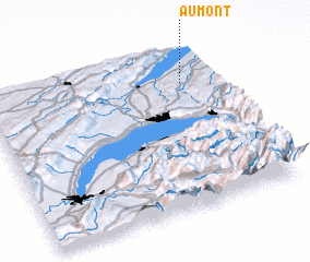 3d view of Aumont