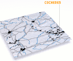 3d view of Cocheren