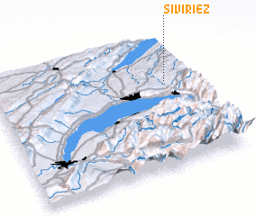 3d view of Siviriez