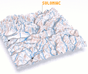 3d view of Solomiac