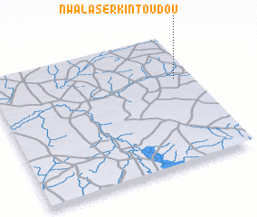 3d view of Nwala Sèrkin Toudou