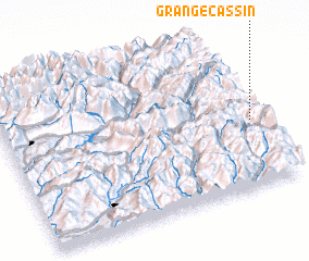 3d view of Grange Cassin