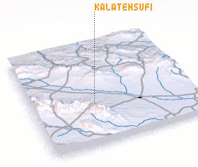 3d view of Kalāteh Şūfī