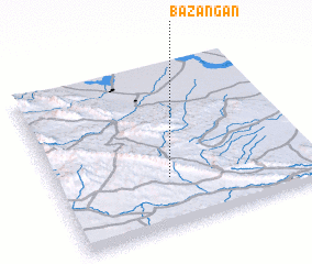 3d view of Bazangān