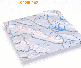 3d view of Sorkh Gazī