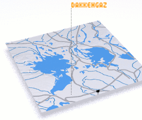 3d view of Dakkeh Gaz