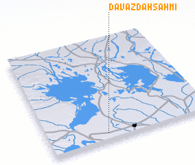 3d view of Davāzdah Sahmī