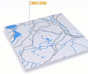 3d view of Cheleng