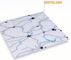 3d view of Koptelovo