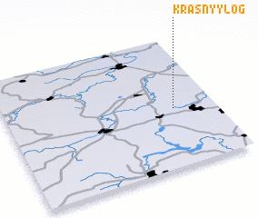 3d view of Krasnyy Log