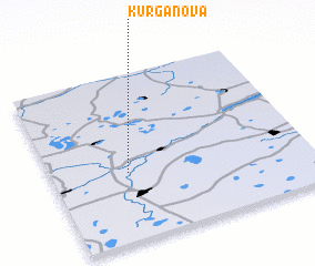 3d view of Kurganova
