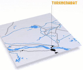 T 252 Rkmenabat Turkmenistan Map Nona Net