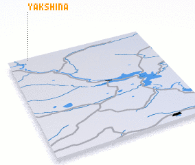3d view of Yakshina