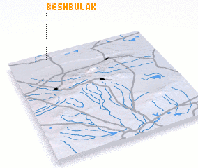 3d view of Beshbulak