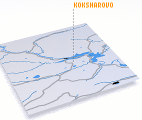 3d view of Koksharovo