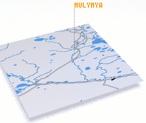 3d view of Mulym\