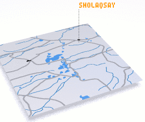 3d view of Sholaqsay