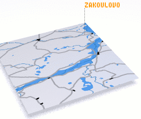 3d view of Zakoulovo