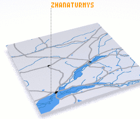 3d view of Zhanaturmys