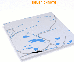 3d view of Belenichnoye