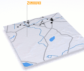 3d view of Zimovki