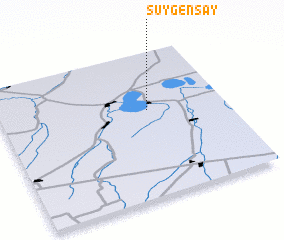3d view of Suygensay