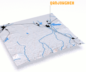 3d view of Qanjowgheh