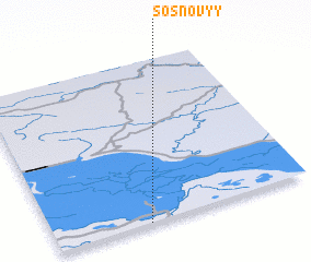 3d view of Sosnovyy
