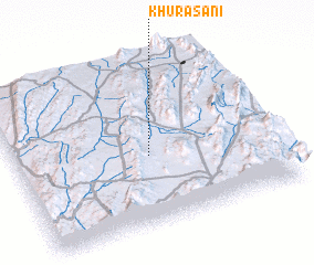 3d view of Khurāsāni